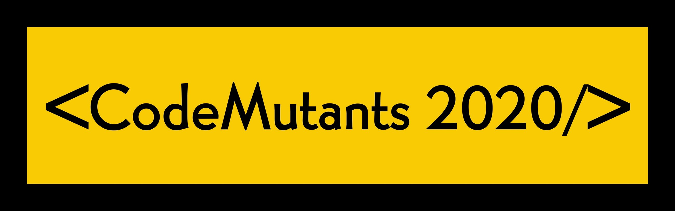 Codemutants 2020 Banner Contest
