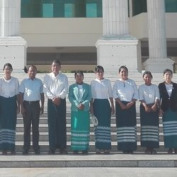 Prof. Sinha delivers a guest lecture at Computer University, Mandalay
