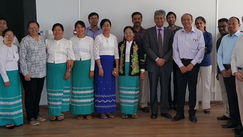 Visit of Indian Ambassador to MIIT