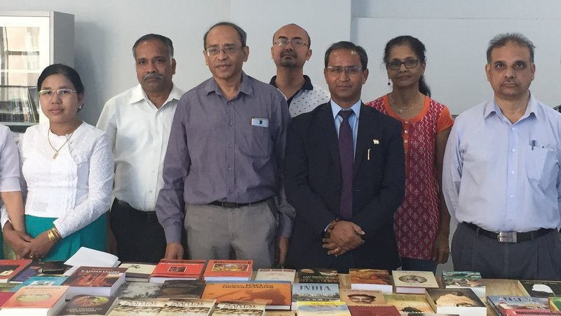 Consul General donates books to the MIIT Library